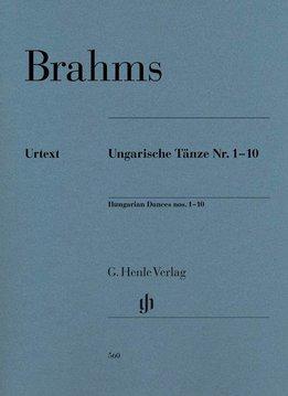 Henle Verlag Brahms, Johannes | Hongaarse Dansen 1-10