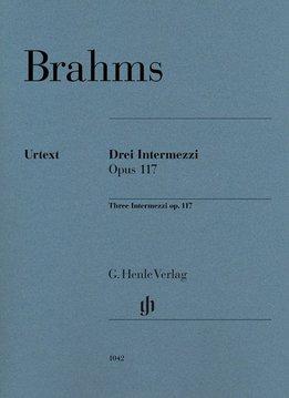 Henle Verlag Brahms | 3 Intermezzi op. 117 | Bladmuziek piano