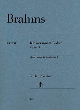 Henle Verlag Brahms | Pianosonate in C op. 1 | Bladmuziek piano