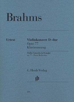 Henle Verlag Brahms | Vioolconcert in D op. 77 | Piano uittreksel