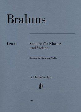 Henle Verlag Brahms | Vioolsonates | Bladmuziek voor piano & viool