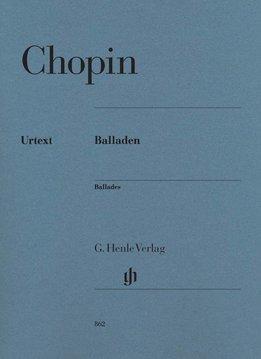 Henle Verlag Chopin | Ballades | Bladmuziek piano