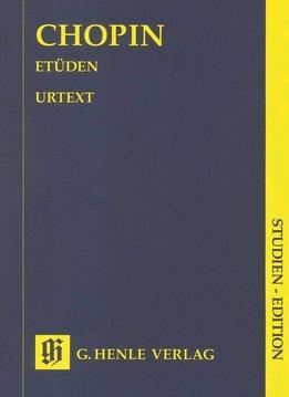Henle Verlag Chopin | Etudes | Henle Verlag  | Studie editie