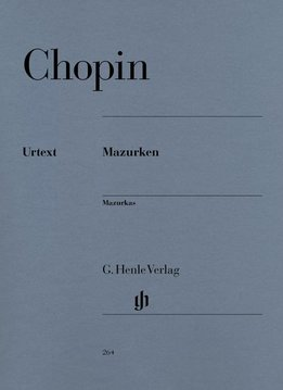 Henle Verlag Chopin | Mazurka's | Bladmuziek piano