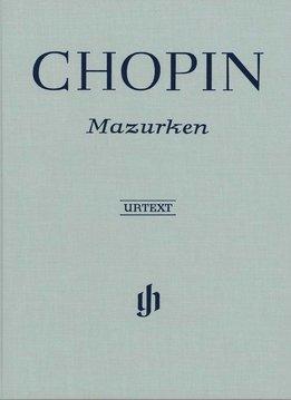 Henle Verlag Chopin | Mazurka's | Bladmuziek piano | Harde kaft
