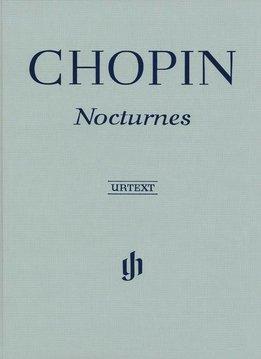 Henle Verlag Chopin | Nocturnes | Bladmuziek piano | Harde Kaft