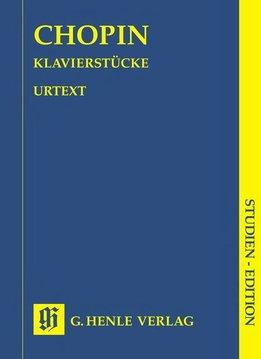 Henle Verlag Chopin | Pianowerken | Bladmuziek piano | Pocket editie