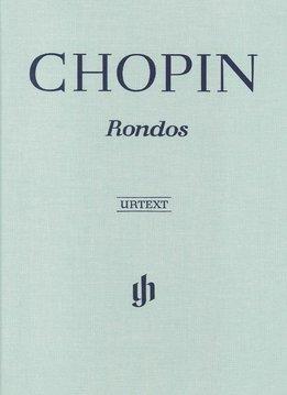 Henle Verlag Chopin | Rondo's | Bladmuziek piano | Harde kaft