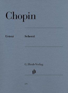 Henle Verlag Chopin | Scherzi | Bladmuziek piano