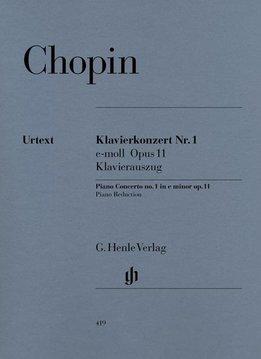 Henle Verlag Chopin | Pianoconcert nr. 1 in e klein | Piano reductie