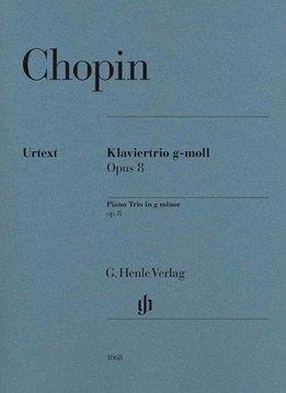 Henle Verlag Chopin | Pianotrio in g klein op. 8 | Partituur + stemmen