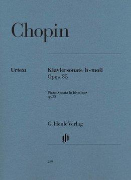 Henle Verlag Chopin | Pianosonate in bes klein op. 35 | Bladmuziek piano
