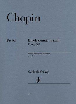 Henle Verlag Chopin | Pianosonate in bes klein op. 58 | Bladmuziek piano