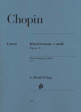 Henle Verlag Chopin | Pianosonate in c klein op. 4 | Bladmuziek piano