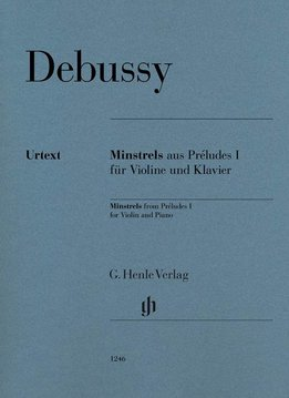 Henle Verlag Debussy | Minstrels uit Préludes I voor Viool en Piano