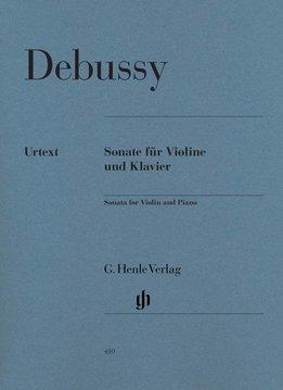 Henle Verlag Debussy | Vioolsonate in g klein | Henle Verlag