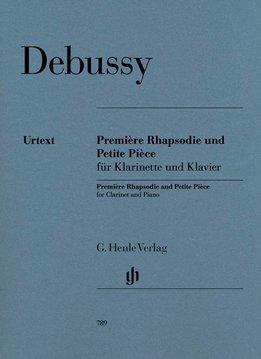 Henle Verlag Debussy | Première Rhapsodie & Petite Pièce voor klarinet en piano