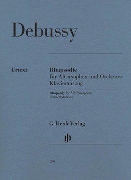 Henle Verlag Debussy | Rapsodie voor Altsaxofoon & Orkest | Piano uittreksel