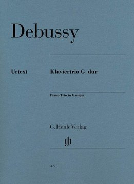 Henle Verlag Debussy | Pianotrio in G | Partituur + losse stemmen