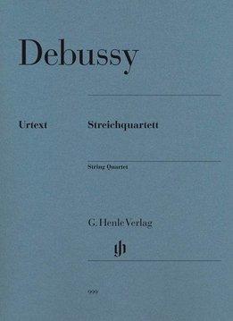 Henle Verlag Debussy | Strijkkwartet | Partituur + losse stemmen
