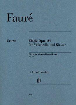 Henle Verlag Fauré | Élégie op. 24 voor Cello & Piano