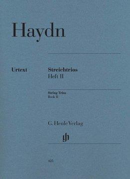 Henle Verlag Haydn   Strijk-trio's   Volume 2