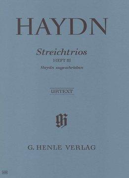 Henle Verlag Haydn   Strijk-trio's, Volume 3 (toegeschreven aan Haydn)