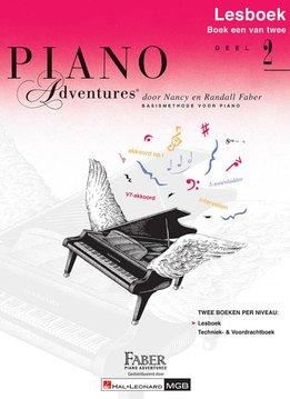 Hal Leonard Piano Adventures | Deel 2 Lesboek met CD