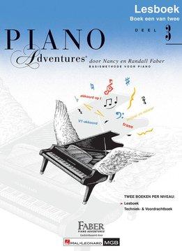 Hal Leonard Piano Adventures | Deel 3 Lesboek