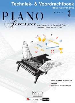 Hal Leonard Piano Adventures | Deel 3 Techniek- & Voordrachtboek
