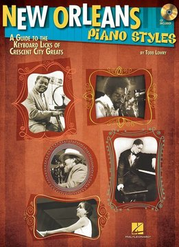 Hal Leonard New Orleans Piano Styles: A Guide To The Keyboard Licks Of Crescent City Greats