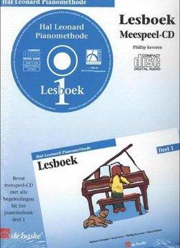 Hal Leonard Hal Leonard Pianomethode | cd bij  Lesboek 1