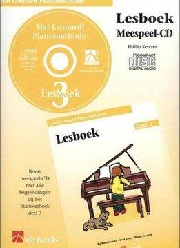 Hal Leonard Hal Leonard Pianomethode | cd bij  Lesboek 3