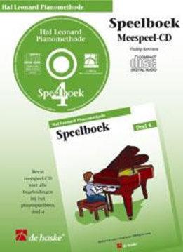 Hal Leonard Hal Leonard Pianomethode | cd bij Speelboek 4