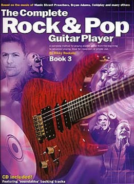 Wise Publications Complete Rock And Pop Guitar Player | Deel 3 + CD