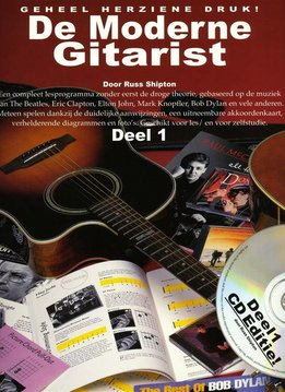 Wise Publications De Moderne Gitarist | Deel 1 (boek + cd)