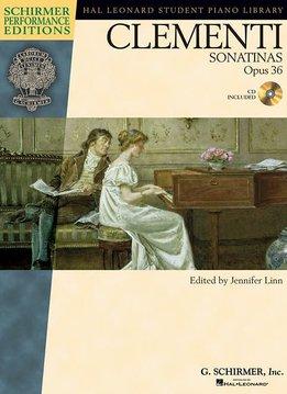 Schirmer Clementi | Sonatinas, Opus 36 + audio