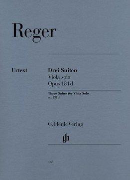 Henle Verlag Reger   Drie Suites op. 131d voor Altviool