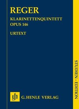 Henle Verlag Reger | Klarinetkwintet in A opus 146 - Studiepartituur