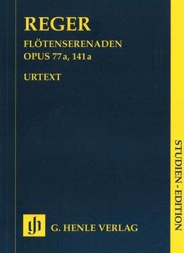 Henle Verlag Reger | Serenades op. 77a en op. 141a voor Fluit (Viool), Viool en Altviool - Studiepartituur