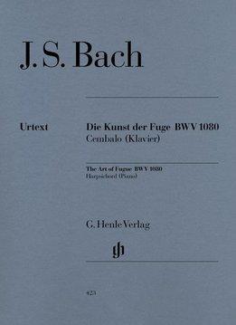 Henle Verlag Bach | Die Kunst der Fuge (The Art of Fugue) BWV 1080