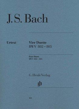Henle Verlag Bach | Vier Duetten BWV 802-8053