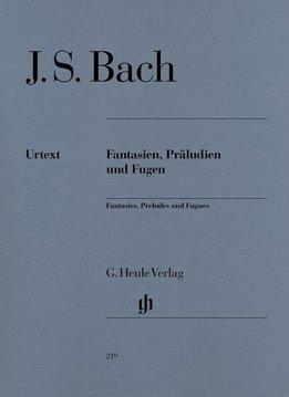 Henle Verlag Bach | Fantasieën, Preludes en Fuga's | Bladmuziek piano
