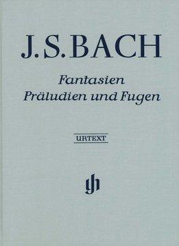 Henle Verlag Bach | Fantasieën, Preludes en Fuga's | Hardcover