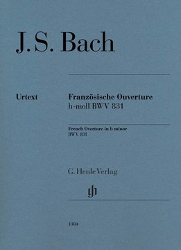 Henle Verlag Bach | Ouverture in Franse stijl BWV 831 | Bladmuziek piano