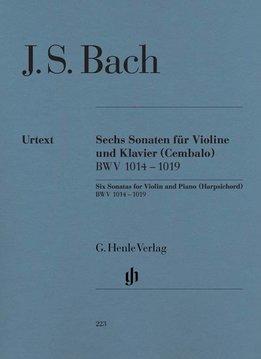 Henle Verlag Bach | Drie sonates voor viool en piano (klavecimbel) BWV 1014-1016