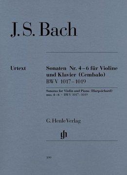 Henle Verlag Bach   Drie sonates voor viool en piano (klavecimbel) BWV 1017-1019