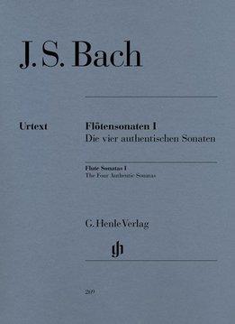 Henle Verlag Bach | Fluitsonates Volume 1 | Die vier authentieke sonates met cello deel