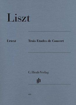 Henle Verlag Liszt   Drie Concert Etuden   Bladmuziek piano