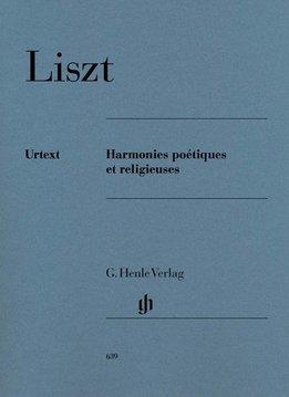 Henle Verlag Liszt   Harmonies poétiques et religieuses   Bladmuziek piano